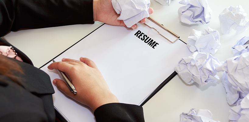 4 Common Resume Mistakes - You should AVOID!